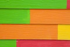 Färgrikt trä texturerar arkivbild