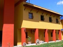 Färgrikt turkiskt hus Royaltyfria Bilder