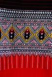 Thailändsk silk. Arkivbilder