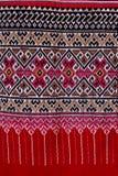 Thailändsk silk. Royaltyfri Foto