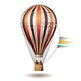 färgrikt varmt för luftballong Royaltyfri Foto