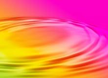 färgrikt vatten för bakgrund Royaltyfri Bild