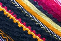 Färgrikt woolen Arkivbild