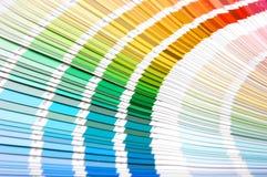 färgscale Arkivbilder