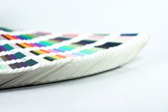 färgscale arkivfoton