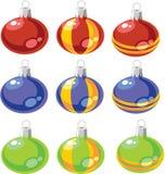 färgset för 02 bollar Fotografering för Bildbyråer