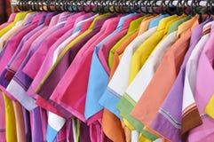 färgskjortor Royaltyfria Foton