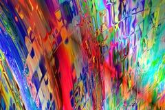 färgstänk Arkivbild