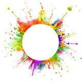 färgstänk Fotografering för Bildbyråer