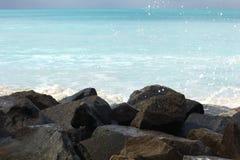 Färgstänk av vatten royaltyfri fotografi