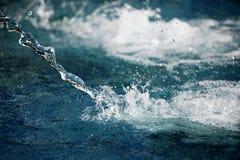 Färgstänk av vatten royaltyfria bilder