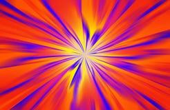 färgstänk för blå red Arkivbild