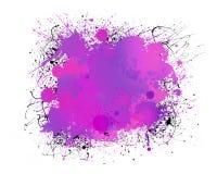 Färgstänkbakgrund Royaltyfri Foto
