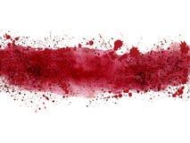 Färgstänkbaner Royaltyfri Bild