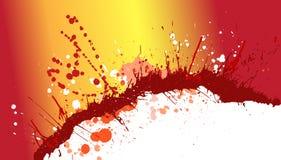 Färgstänkbeståndsdelvektor Royaltyfri Illustrationer