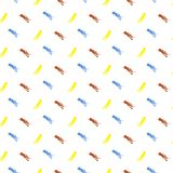 Färgstänkdesign MÅLAD ABSTRAKT SÖMLÖS VEKTORMODELL HIPSTERBORSTETEXTUR royaltyfri illustrationer