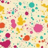 Färgstänkmodell Royaltyfri Fotografi