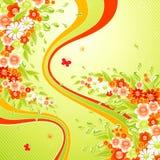 färgstänksommar Royaltyfria Bilder