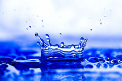 färgstänkvatten Royaltyfria Bilder