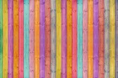 Färgträväggtextur för bakgrund arkivbilder
