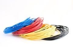 färgtrådar Arkivfoton