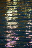 färgvatten Royaltyfri Fotografi