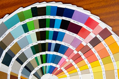 färgventilator royaltyfria foton