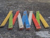 Färgvikningmeter Arkivbilder