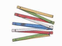 Färgvikningmeter Royaltyfri Foto