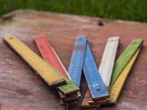Färgvikningmeter Arkivfoto