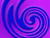 färgvirvel vektor illustrationer