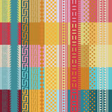 Färgwallpapertryck Royaltyfri Bild