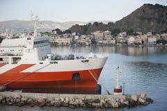 Färja-fartyg Fotografering för Bildbyråer