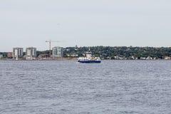 Färja i Halifax Arkivbild