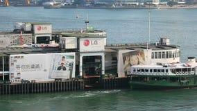 färja stjärnan för service för den Hong Kong operatörspassagerare arkivfilmer