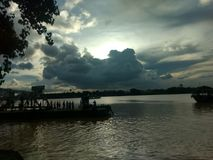 Färjaport på Kolkata Royaltyfria Foton