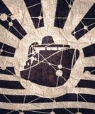 Färjasymbol royaltyfria foton
