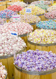 Fässer der Süßigkeit Lizenzfreie Stockbilder