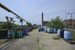 Fässer Gefahrstoffe Lizenzfreie Stockbilder