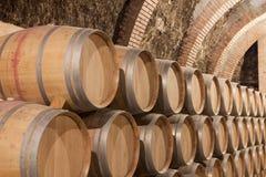 Fässer Wein Lizenzfreie Stockfotos