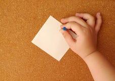 Stiga ombord pappers- Royaltyfria Bilder