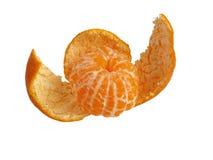 fästande ihop bland annat skalad mandarinbana Royaltyfri Foto