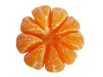 fästande ihop bland annat skalad mandarinbana Royaltyfria Foton