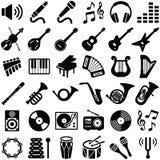 fästande ihop den digitala bland annat musikbanor för symboler illustrationen skrapar Arkivbild