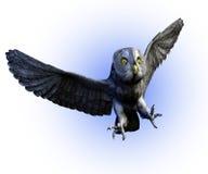 fästande ihop grå stor bana för owl 2 Fotografering för Bildbyråer