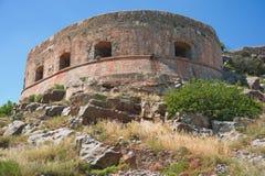 fästningöspinalonga Fotografering för Bildbyråer