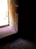 Fästning öppen dörr Fotografering för Bildbyråer