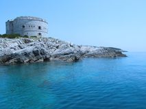 fästning Arkivbild