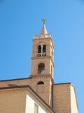 Fästning Acquaviva Picena- Italien Arkivbild