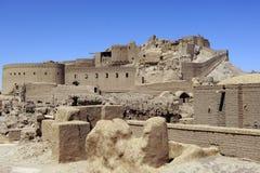 Fästning Arg-e Bam Iran Summer arkivfoton